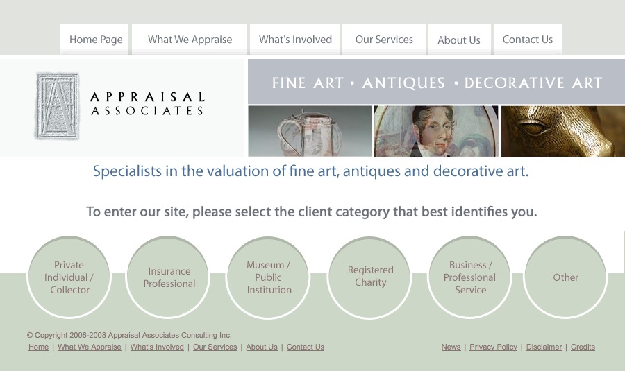 Appraisal associates home page